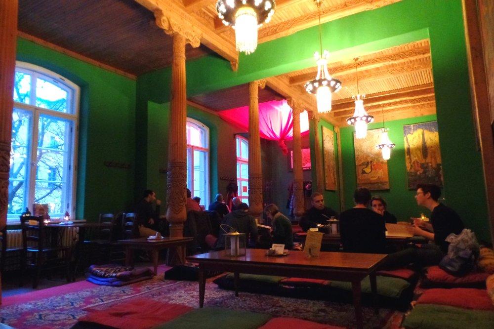 Tajik Tearoom Tadschickische Teestube