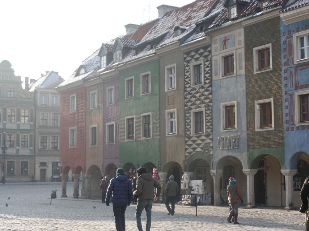 Poznan - pretty house town