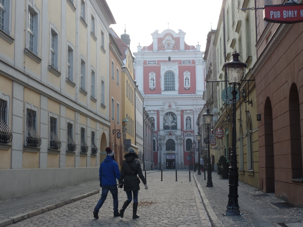 Poznan's cobbled streets